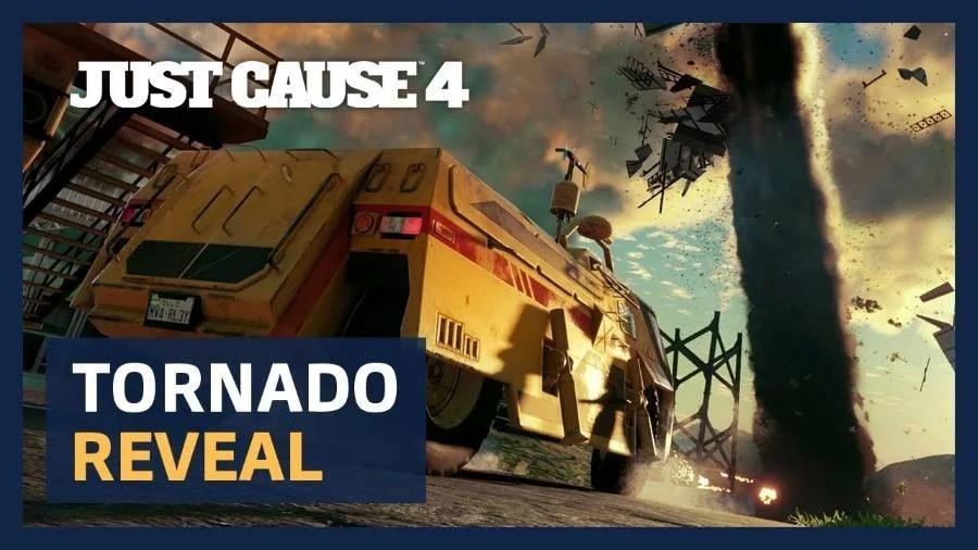 Just Cause 4 Gets Tornado Gameplay Trailer GamersHeroes