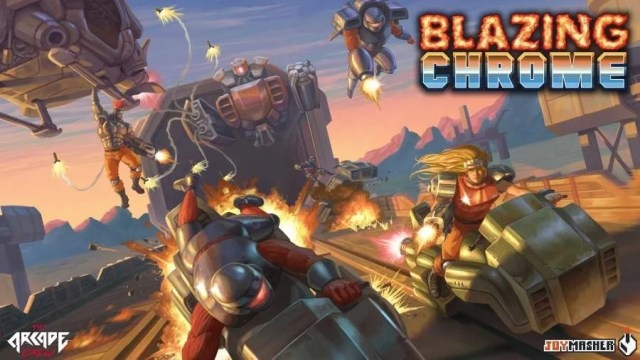 Blazing Chrome Gets Boss Trailer | Best Headphones