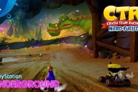 Crash Team Racing Nitro-Fueled Gets Dragon Mines and Retro Stadium Gameplay