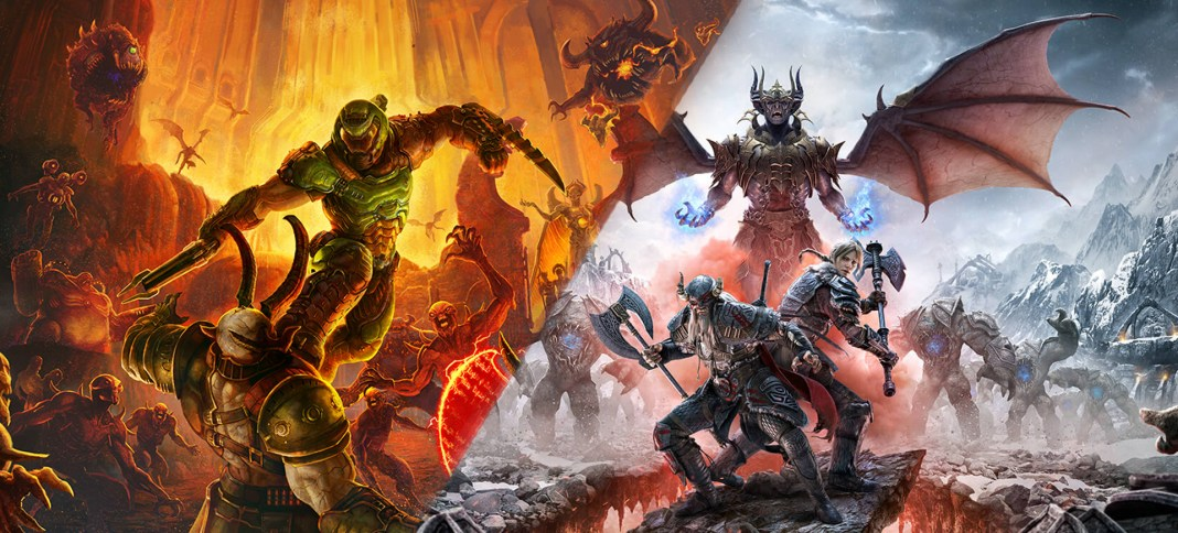 Doom Eternal and Elder Scrolls Online Making Their Way To PS5 and Series X