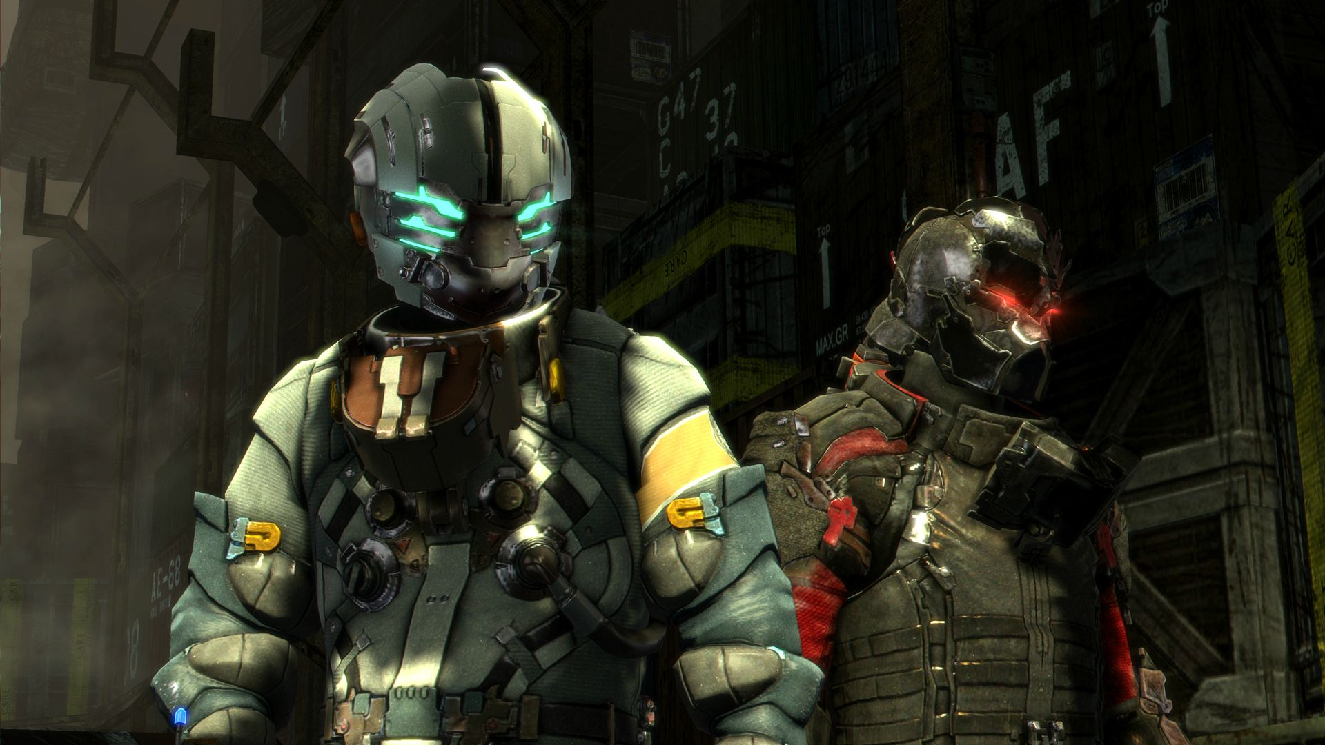 Dead Space 3 New Screens Show Co Op Other Human Characters And One Necromorph GamersPack