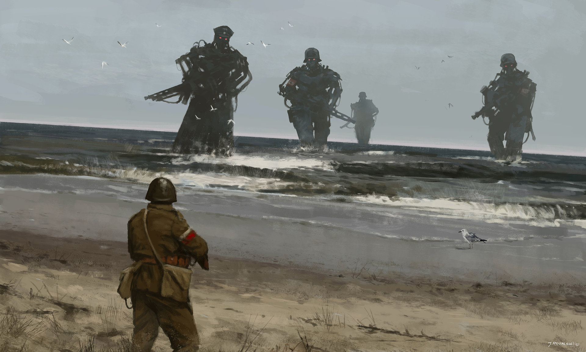 Rewrites World War 1 With Mech Suits And Rifles