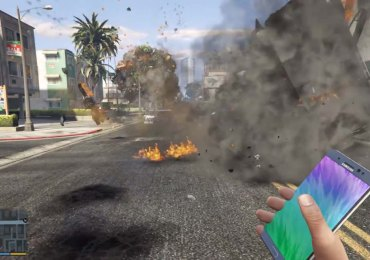 grand-theft-auto-v-mod-spoofs-exploding-galaxy-note-7-video-gamersrd