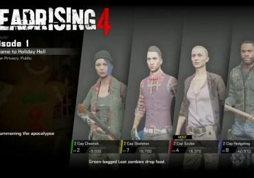 Mira el vídeo del modo cooperativo en Dead Rising 4