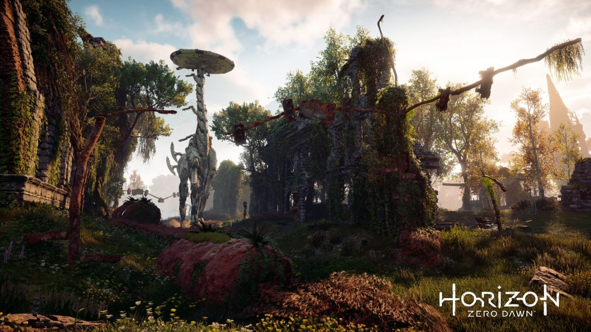 Chequea este gameplay de 20 minutos de Horizon: Zero Dawn