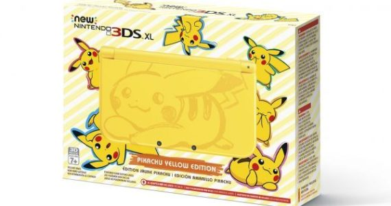 Nuevo modelo 3DS XL Pikachu Yellow Edition-1-GamersRD