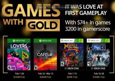 Revelados Games With Gold de Febrero 2017