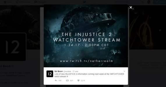 Un nuevo trailer relevador de Injustice 2 en camino GamersRD