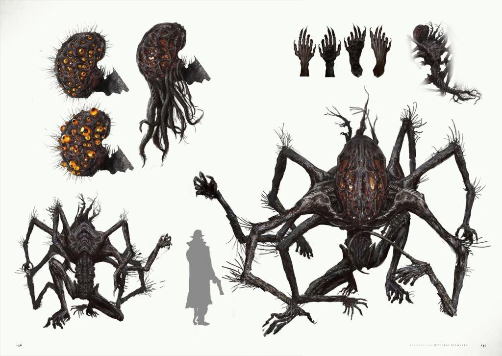 Algunas páginas bestiales se revelan del libro de arte oficial de Bloodborne-1-GamersRD