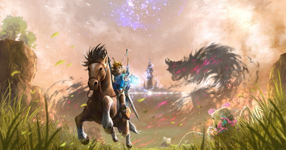 Mira los primeros 15 minutos de The Legend of Zelda: Breath of the Wild