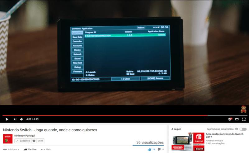 Nintendo Switch Devkit 2