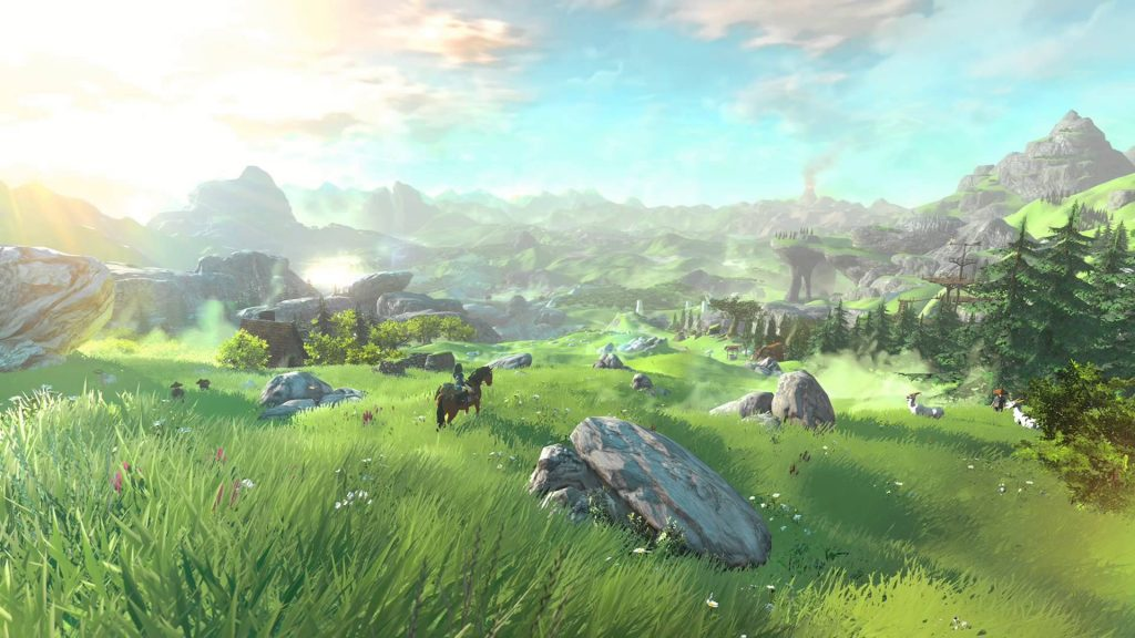 Hyrule Field-Breath of the Wild-GamersRD