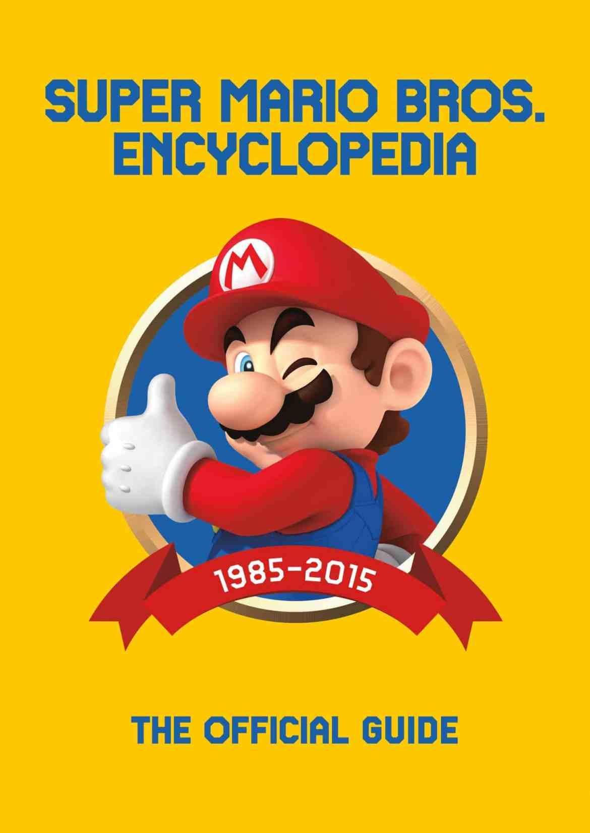 Super Mario tendrá su propia enciclopedia