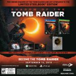 Revelan Shadow of the Tomb Raider Special Editions