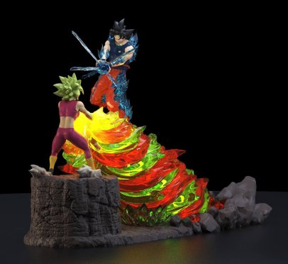 Dragon Ball Super Goku vs Kefla Figure-3