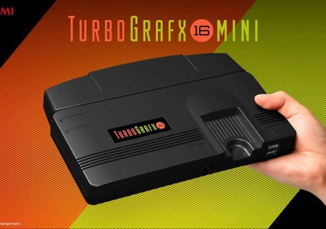 TurboGrafx 16mini