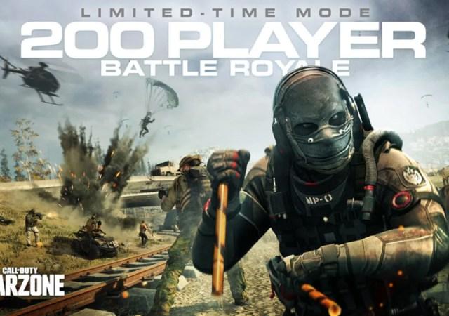 Call of Duty Warzone 200 Jugadores