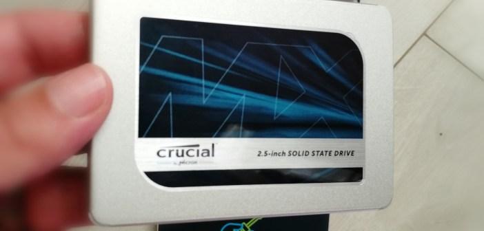 [Avis] SSD Crucial MX500 (500Go)