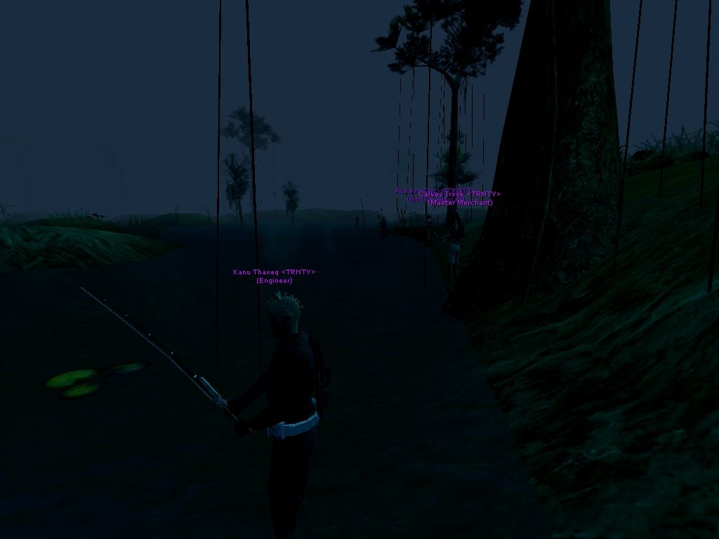Fishing tournament at the Naboo Swamp south of Trinity City.