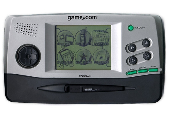 Game.com console was one of the first to have internet connectivity and touchscreen