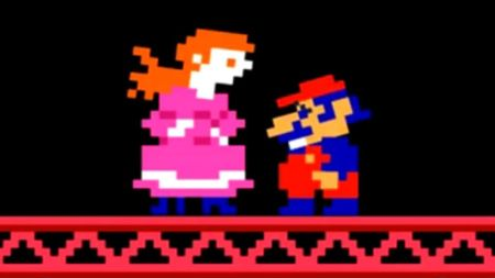 Pauline is the name that Mario (Jumpman) saves in Donkey Kong