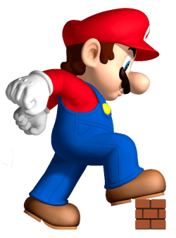 Super Mario's name is actually Mario Mario Video Game facts