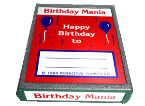 Birthday Mania Rare Video Game