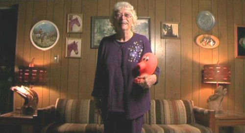 Doris Self Picture in room