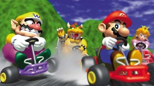 Mario Kart N64