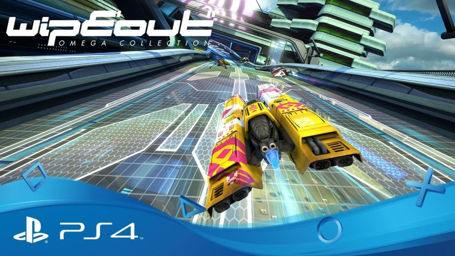 Wipeout Omega Collection video game remake