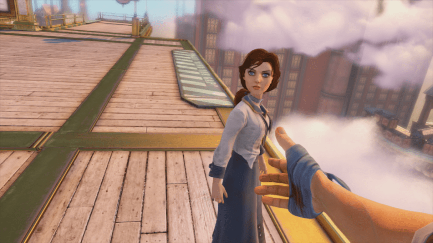 Bioshock Infinite Women in Dystopian Games
