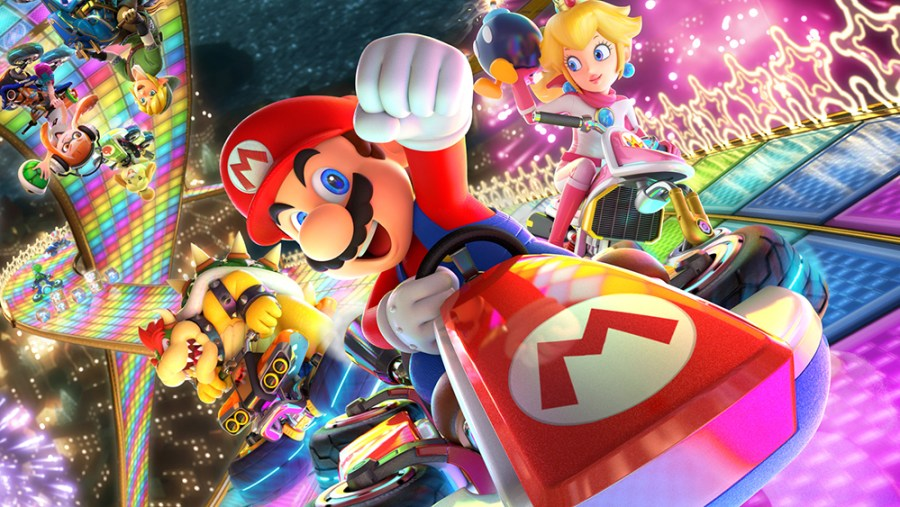 Mario Kart 8 Deluxe is the best video game for Nintendo Switch