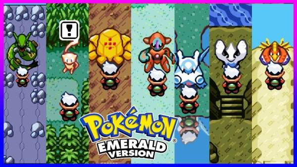 Pokemon Emerald game for gba
