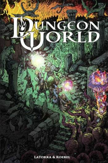 Dungeon world Tabletop roleplaying-game. best tabletop role-playing games