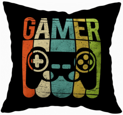 game room pillow