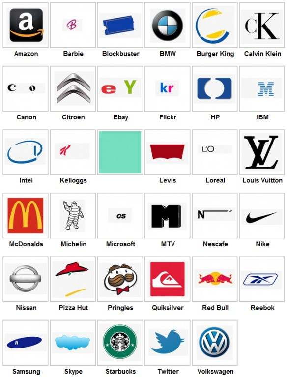 Logo Quiz Level 11 Answers With Pictures - Logo Keren