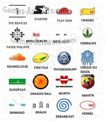 Logo Quiz answers level 10 part 1