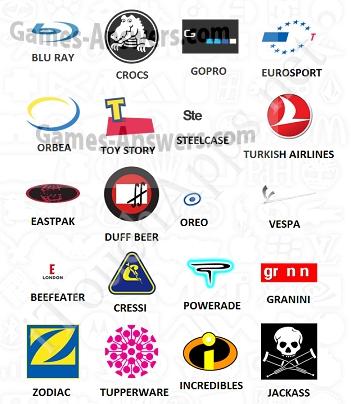 Logo Quiz answers level 10 part 3