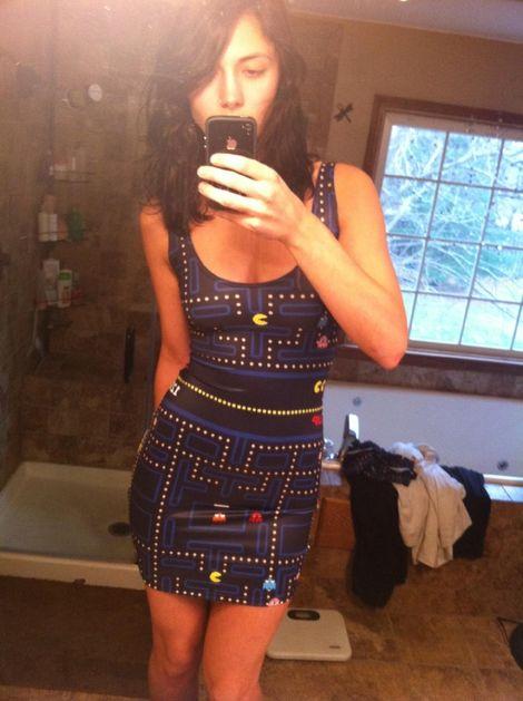 robe-pacman Geek: Robe de soirée Pacman