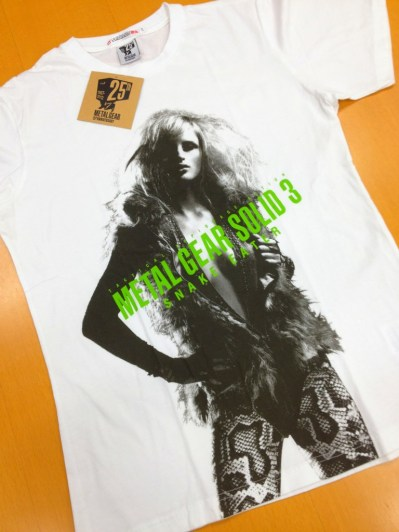 MGS-tee-shirt-Uniqlo-10 Metal Gear Solid : Une collection de tee-shirts pour feter les 25ans