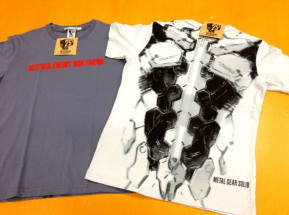 MGS-tee-shirt-Uniqlo-2 Metal Gear Solid : Une collection de tee-shirts pour feter les 25ans