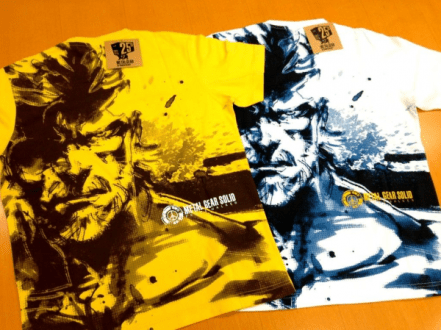 MGS-tee-shirt-Uniqlo Metal Gear Solid : Une collection de tee-shirts pour feter les 25ans