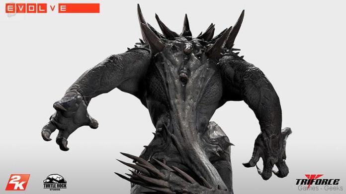 Evolve-Goliath-Monstre-TriForce-statuette-03 Figurine : Découvrez Goliath d'Evolve