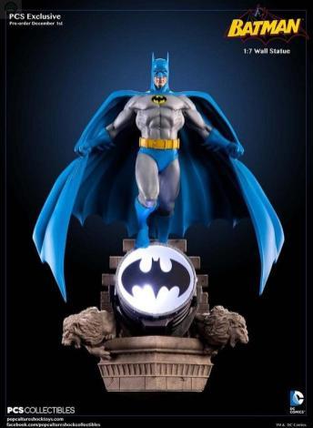 Batman-Bronze-Age-Wall-Statue BATMAN MODERN AGE 1/7 WALL STATUE - POP CULTURE SHOCK