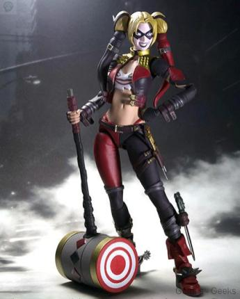 Injustice-Gods-Among-Us-Harley-Quinn-Action-Figure Injustice Gods Among Us Harley Quinn SH Figuarts Action Figure