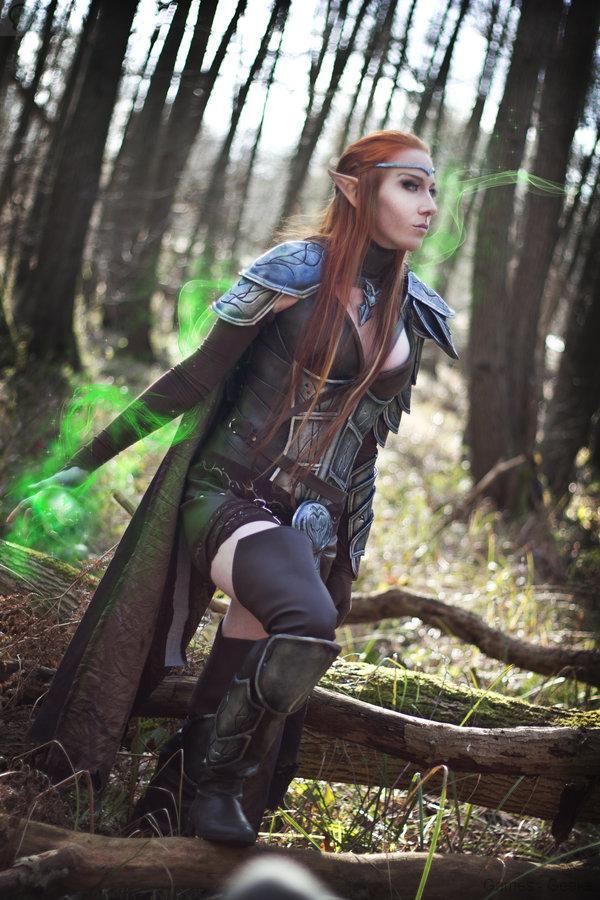 the_elder_scrolls_online_elven_cosplay_by_emilyrosa-d7b0wac Cosplay - The Elder Scrolls #46