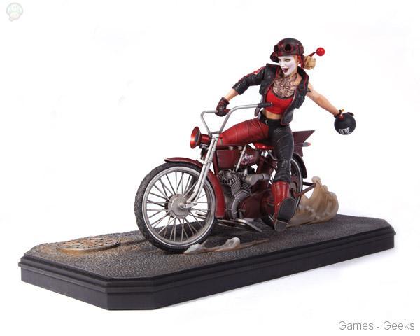 DC-Comics-Gotham-City-Garage-Harley-Quinn-Statue1 La sélection Figurine de la semaine #3
