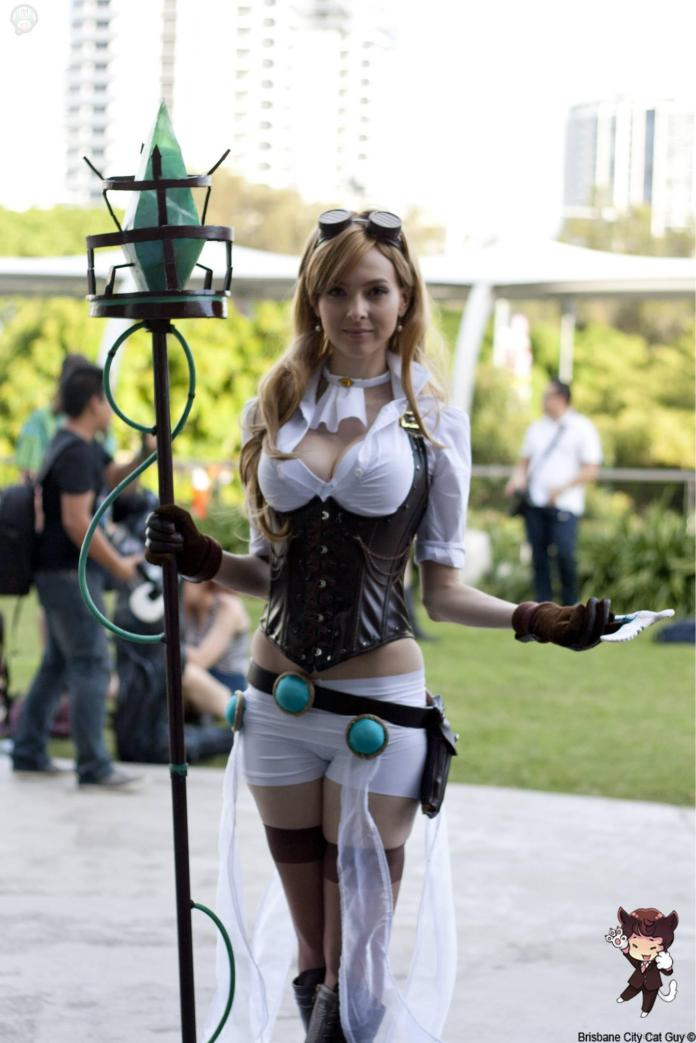 11149700_564637087012446_4761492965077301391_o Cosplay - League of Legends - Hextech Janna #82