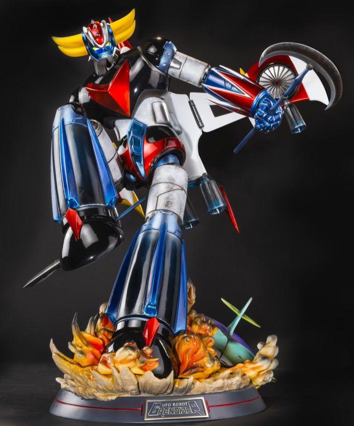 Grendizer-HQS-15 Une magnifique figurine en hommage à Goldorak