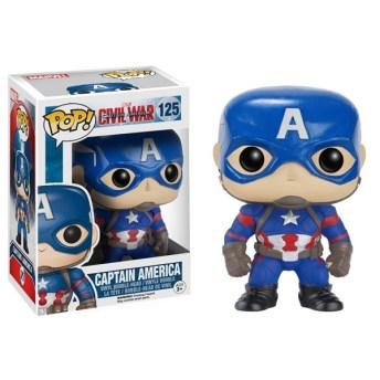 Captain-America-Civil-War-Captain-America-Pop-Vinyl-Figure Figurine Funko: Nouvelle Sélection